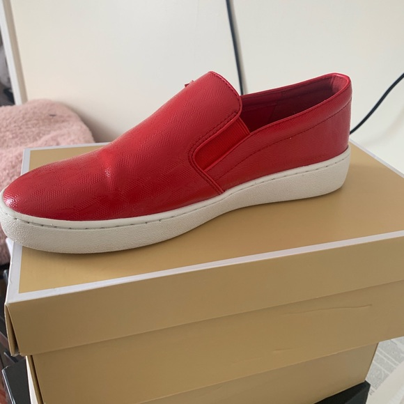 Red Michael Kors Shoes | Poshmark